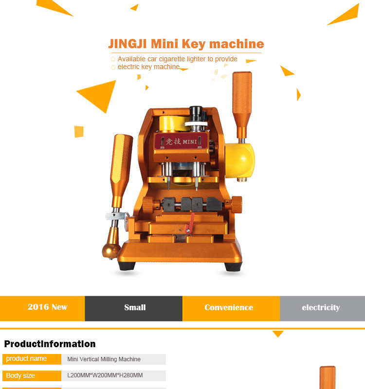 mini key cutting machine