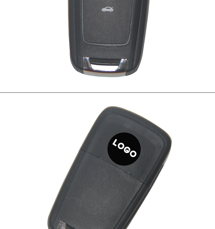 AK022002 Holden 3 button Flip remote control key 433MHZ FCCID 5WK50079