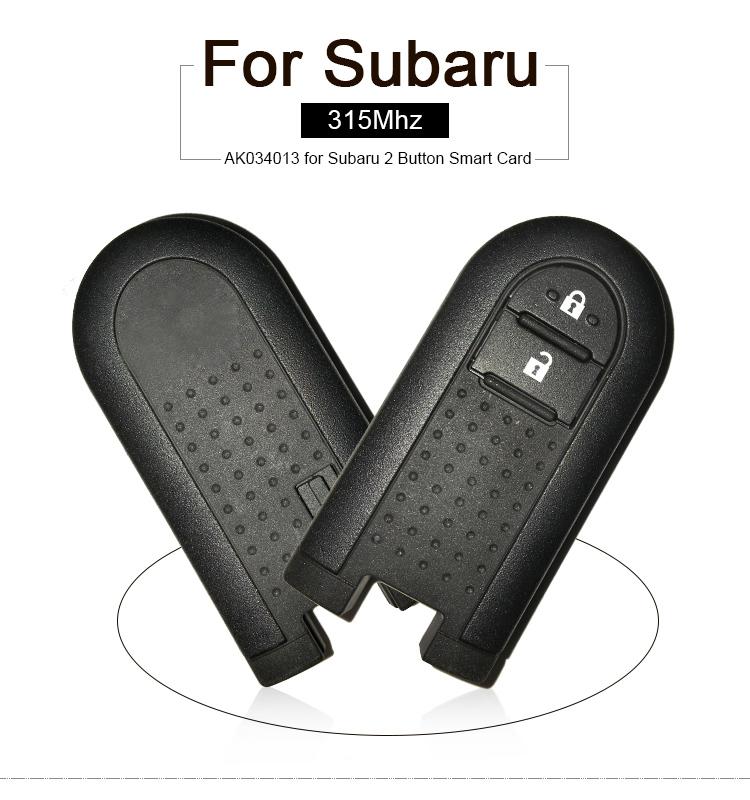 AK034013 for Subaru 2 Button Smart Card 315MHZ