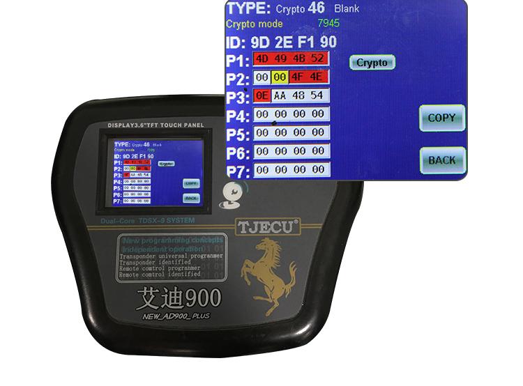 AK020035 For Hyundai IX35 3 button 433MHZ ID46 PCF7945 2S600-2S610