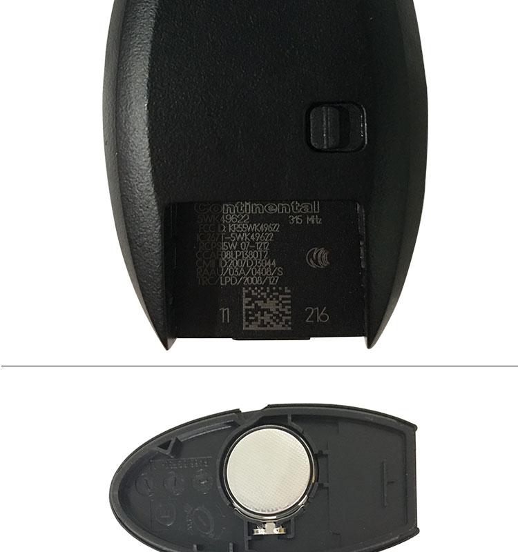 Gt Gt Ak027038 Nissan 3 1 Button 315mhz Pcf7952